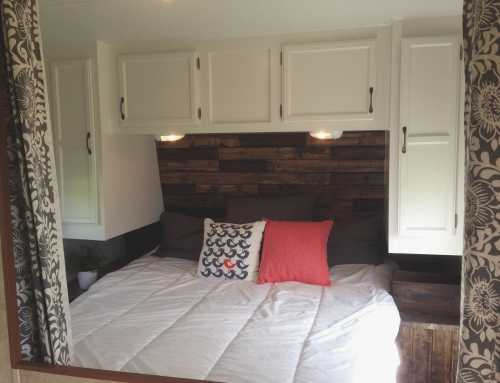 jayco travel trailer renovation the ball camp. Black Bedroom Furniture Sets. Home Design Ideas