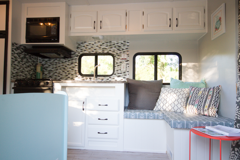 Jayco Travel Trailer Renovation The Ball Camp