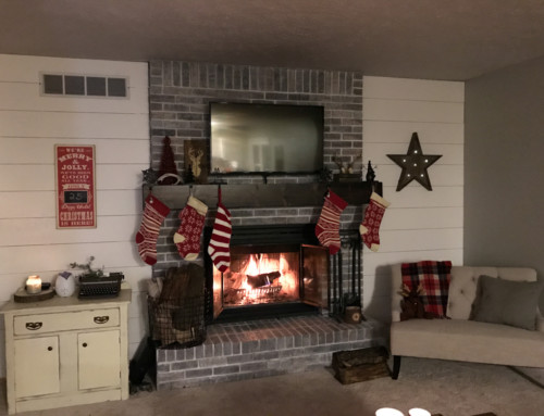 Shiplap, chalk paint and all the pretty things- The Hearth Makeover