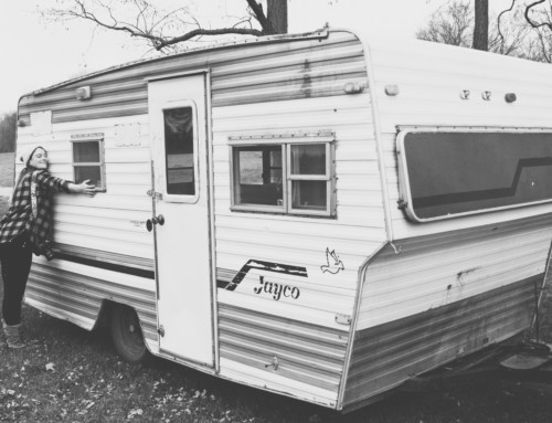 The newest addition to the Ball Camp – 77 Jayco Gut Job